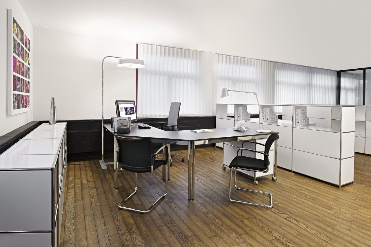 System4 Swiss Modular Furniture Office Set Up5 Assembly Inspired