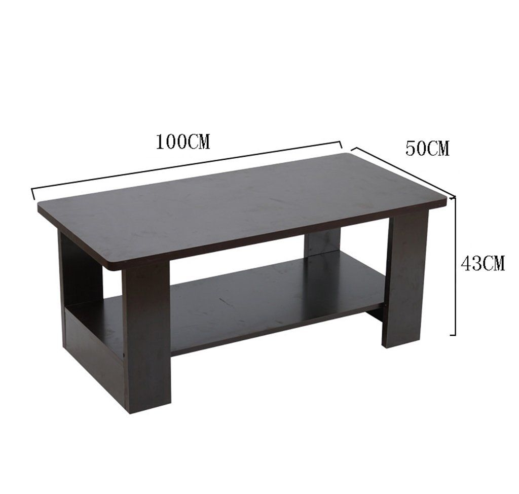 Csq Wooden Small Coffee Table Balcony Living Room Side Table