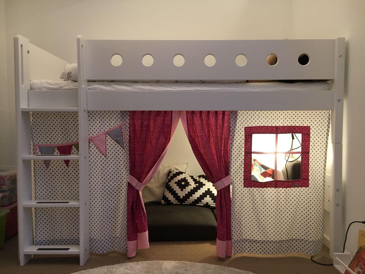 Designer HochbettVorhang,Spielbett Gardine, Vorhang für