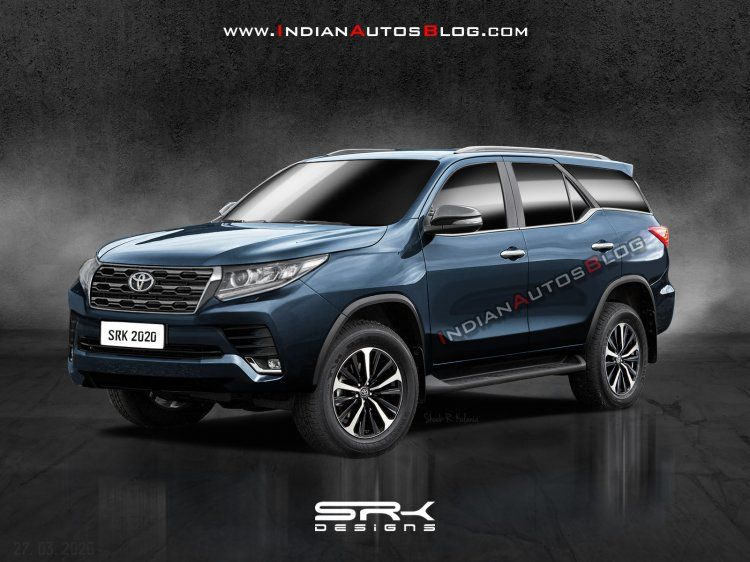 New Toyota Fortuner Facelift Iab Rendering In 2020 Toyota Toyota Cars Car