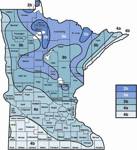 What Gardening Zone Is Minnesota In