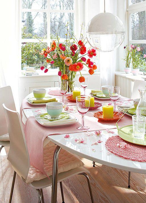 Wohn Magazine german design via wohn idee magazine florals and dining