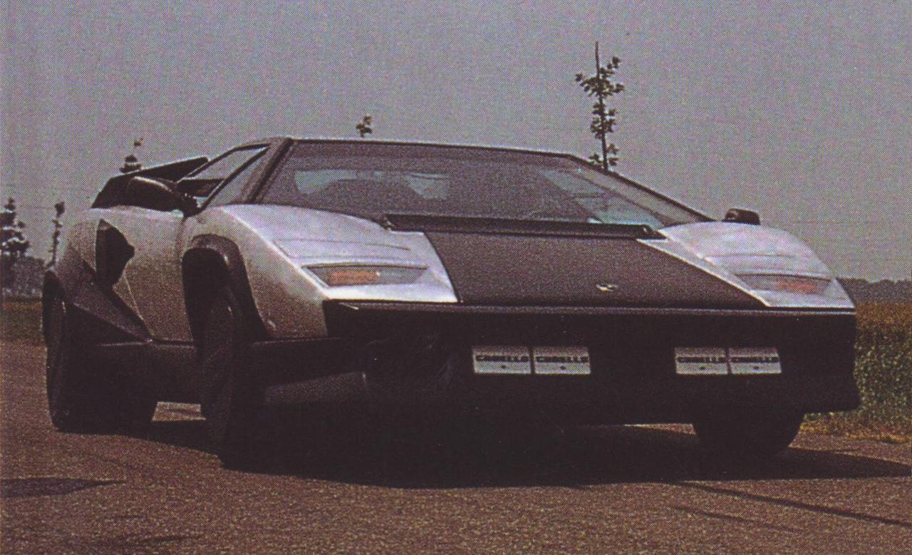 1987 Lamborghini Countach Evoluzione Uncompromising