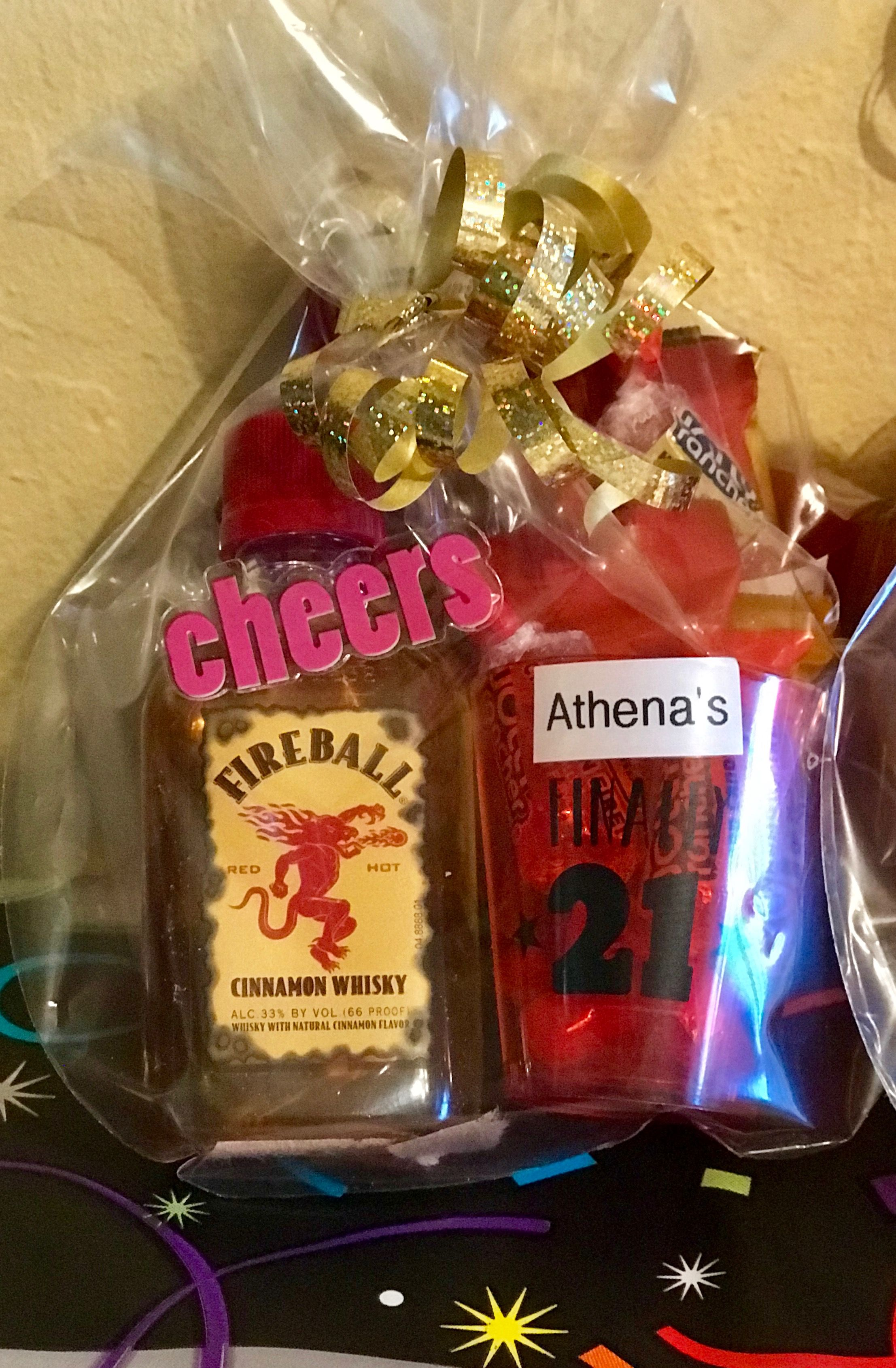 Fireball Party Favor Finally 21 Party 21st Birthday Party Favors 21st Party Birthday Party 21