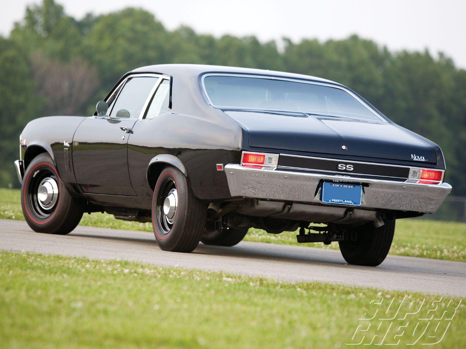 1969 nova ss 1969 chevy nova ss left rear angle