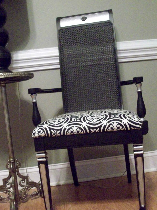 Dining Chairs Makeover Before and After (from 8 years ago