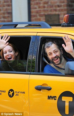 On June 21, 2013, Judd Apatow rode with Leslie Mann north in the West Village to One Abingdon Square, and the pair paid a $7 fare with a $2.10 tip http://dailym.ai/1rHYhtH