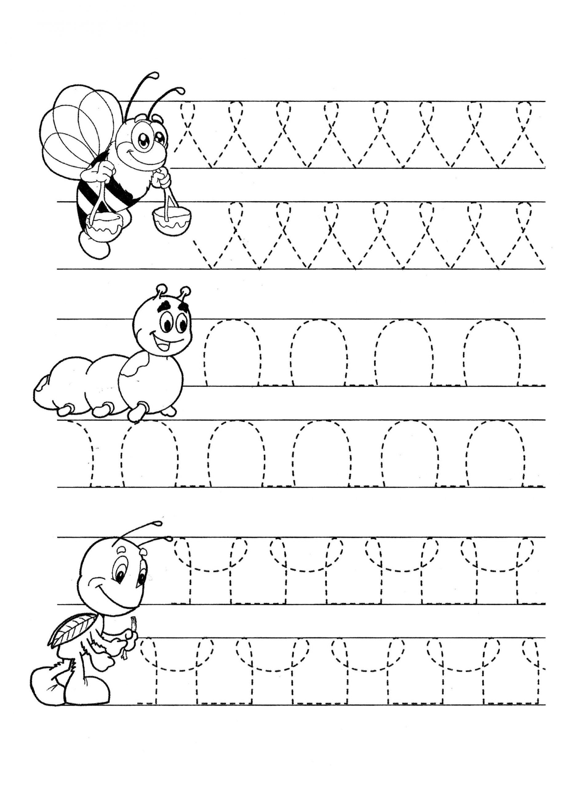 Fine Motor Skills Worksheets In