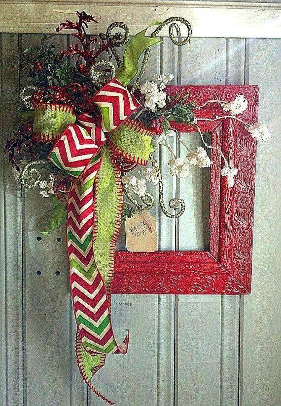 30++ Decoracion navidena de marcos de puertas inspirations