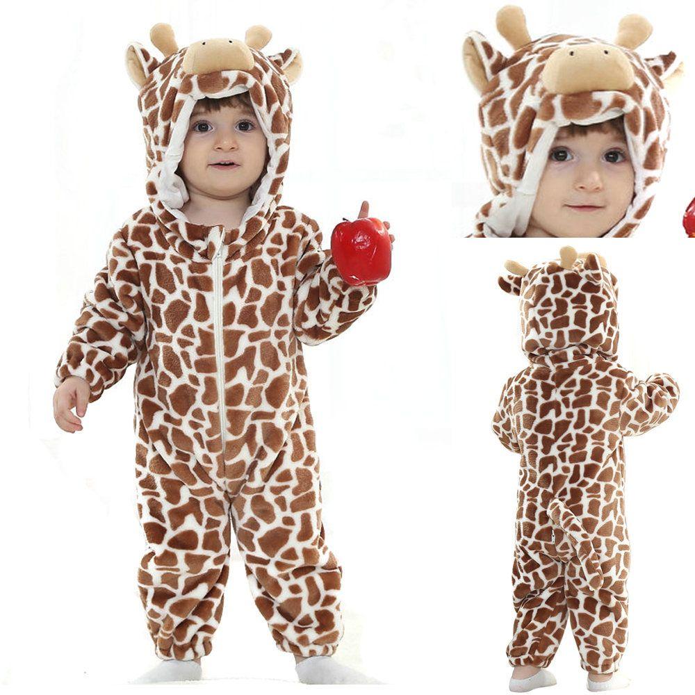 e15fbe4b6 Coffee Cow Animal Costume Onesie Kigurumi for Toddler Babies ...