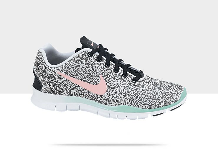 nike free tr fit 3 print trainers hate