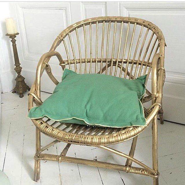 fdp offert sur le fauteuil en rotin gold ( ce fauteuil a été