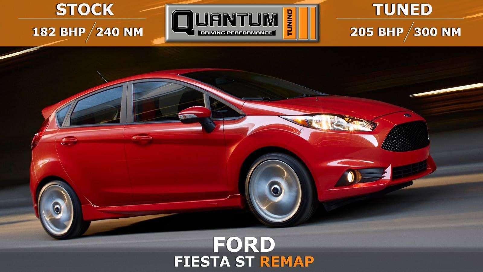 Ford Fiesta St Tuned By Quantum Tuning Original 182 Bhp 240