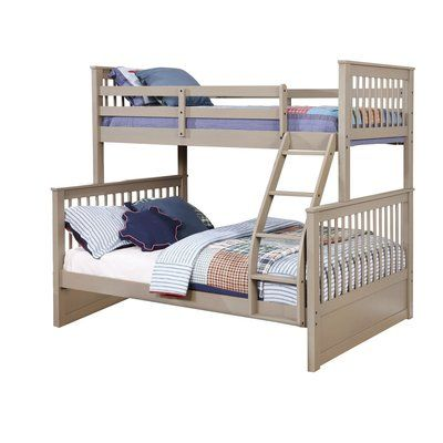 Harriet Bee Wang Twin Over Full Bunk Bed Products Bunk Beds