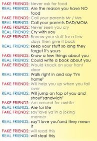 Awesome Quotes Fake Friends Vs Real Friends Stuff Pinterest