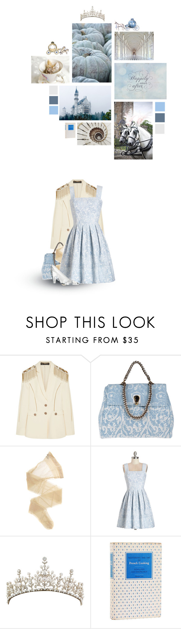 """""""Cinderella"""" by siriuslyoddsome ❤ liked on Polyvore featuring Versace, Ermanno Scervino, Wolford, Antonio Marras, Once Upon a Time, cinderella and fairytale"""