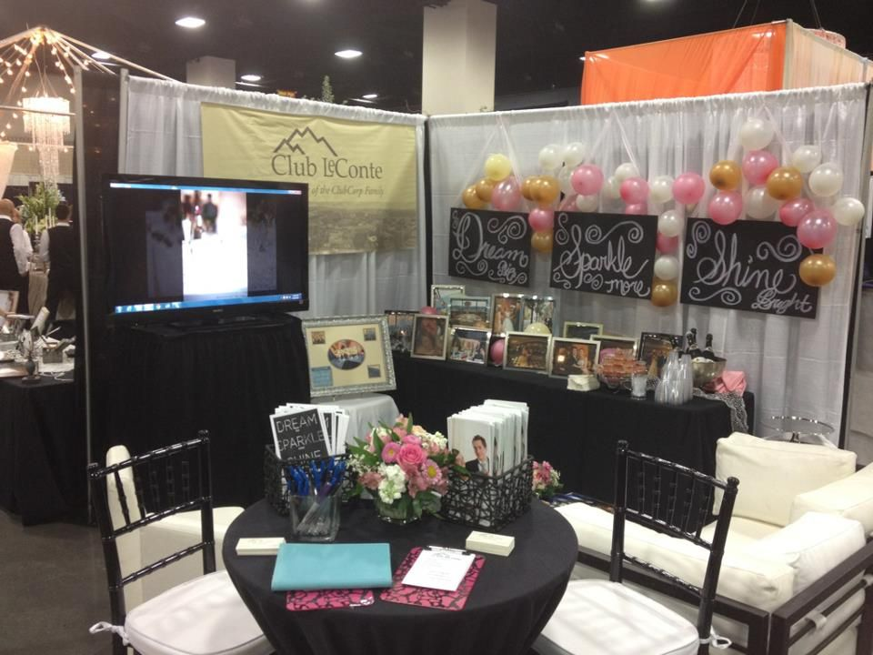 Club Leconte Knoxville Tn Beautiful Bridal Show Booth 2017 Clubcorp