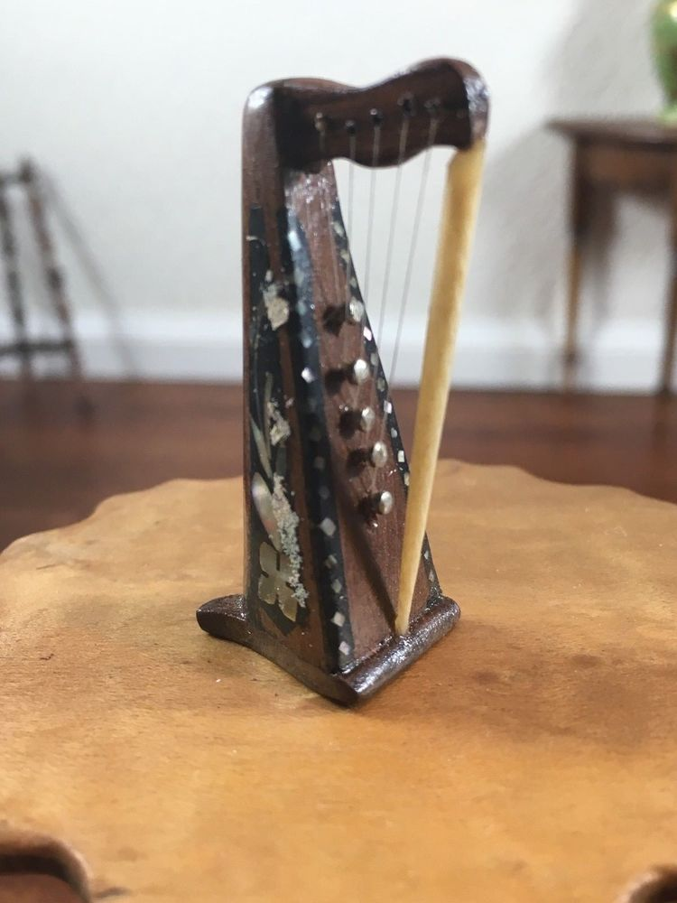 String On Antique Wood Doll   Wooden Thing