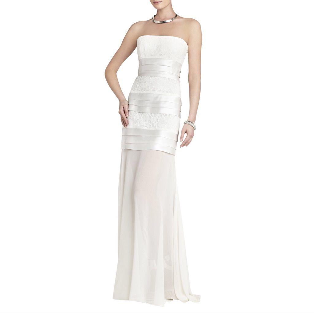 Nwt Size 2 Bcbgmaxazria White Dress | Products