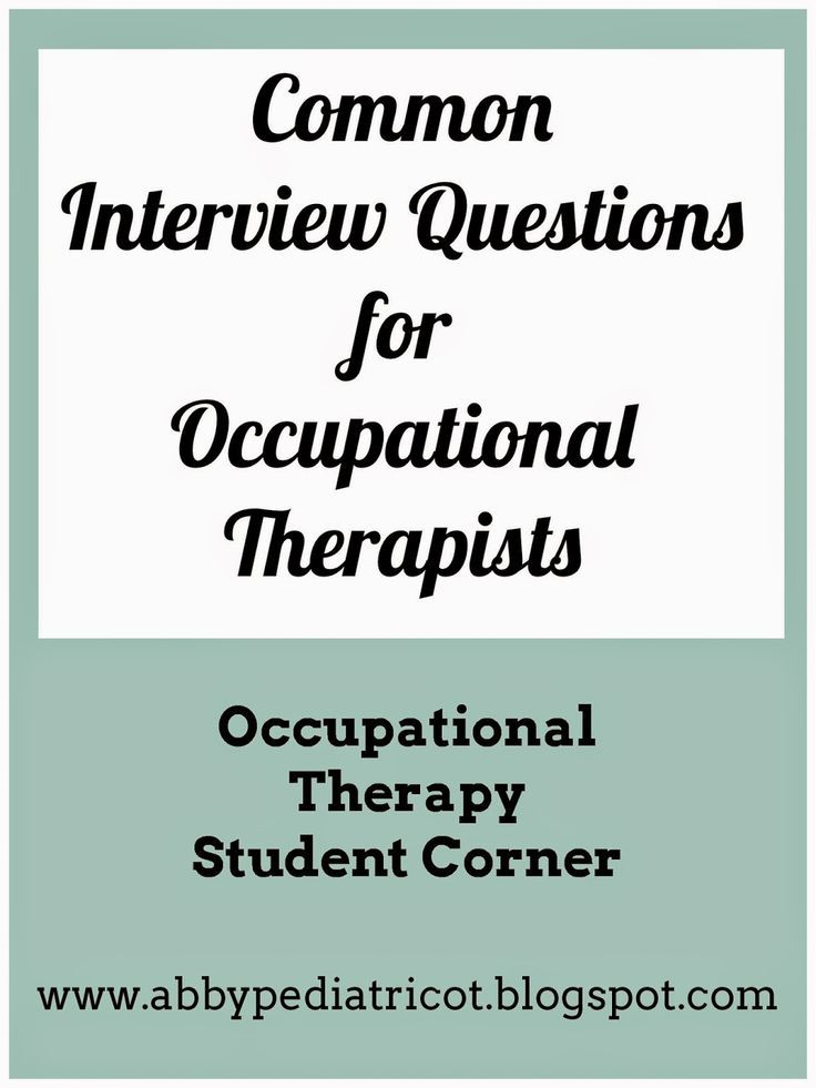 Our guest blogger shares the details about her occupational therapy