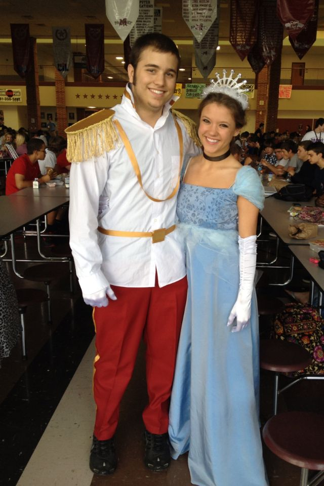 Homemade Cinderella and Prince Charming Halloween costumes!  sc 1 st  Pinterest & Homemade Cinderella and Prince Charming Halloween costumes! | DIY ...