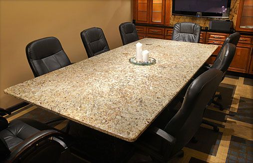 Transform Your Conference Room With A Beautiful Granite Top Desk From  Cabinets U0026 Granite Direct.