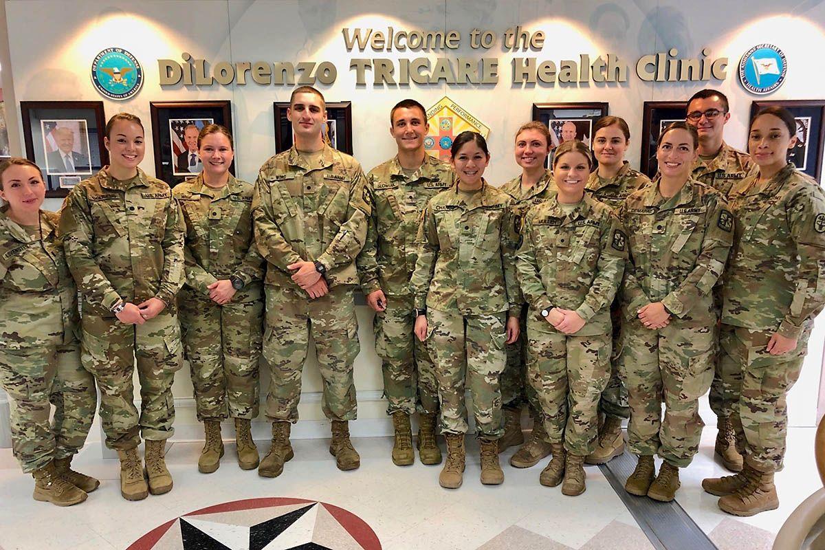Austin Peay State University ROTC student puts nursing