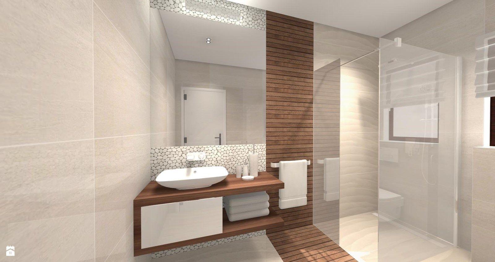 Wystroj Wnetrz Lazienka Styl Skandynawski Projekty I Aranzacje Najlepszych Designerow P Small Bathroom Styles Bathroom Design Small Small Master Bathroom