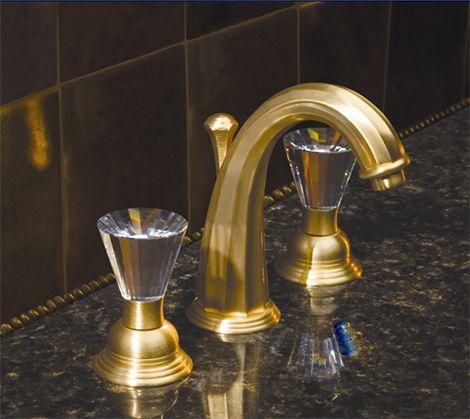 Altmans Caribe Satin Gold Bathroom Decoration Faucet   Home .