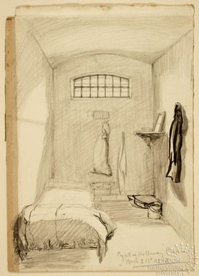 Core Record Wls Vads The Online Resource For Visual Arts Prison Art Prison Drawings Prison Cell
