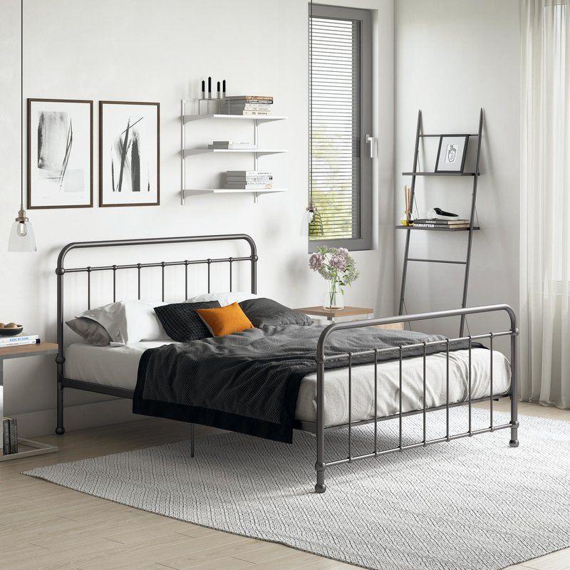 Mitcheldean Platform Bed & Reviews Birch Lane Iron