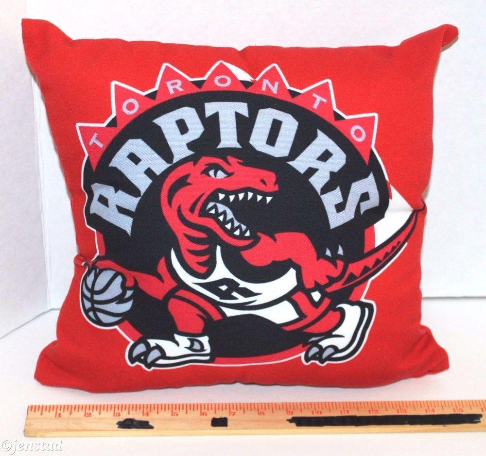 Toronto Raptors Throw Linen Case Pillow Nba Basketball 14 15