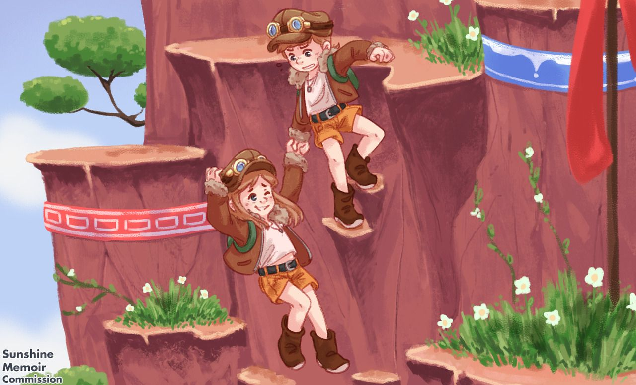 A Twins In Time A Hat In Time Time Art Magical Boy