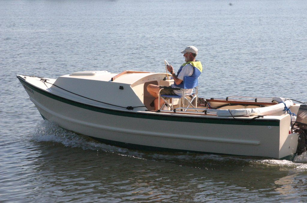 Tolman standard skiff with cuddy cabin messing about in for Build fishing boat