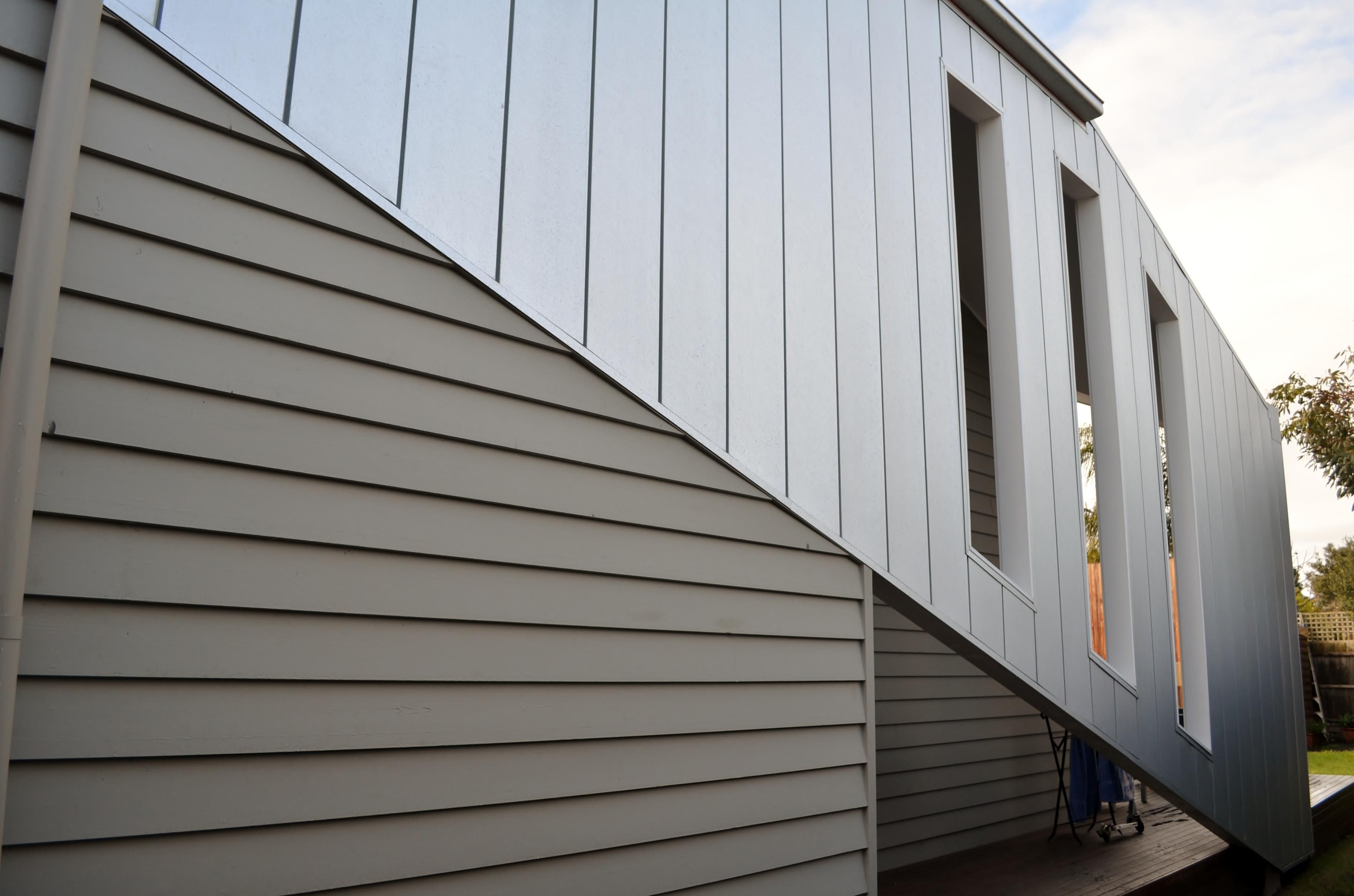 Buy wood plastic wall panel material uk best low cost - Exterior plastic cladding for houses ...