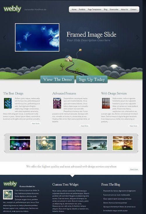 Webly Theme Review Elegant Themes Elegant Themes Web Design Services Best Web Design