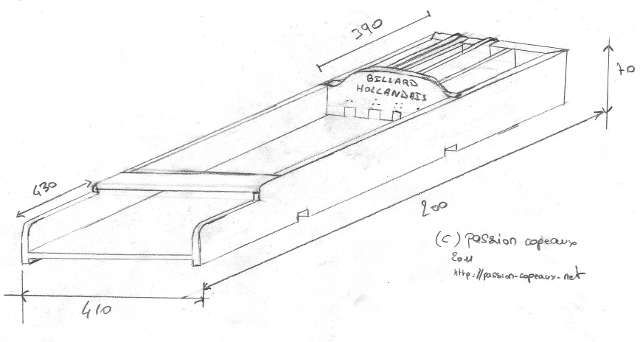 plan fabrication billard hollandais recherche google bricolage pour mon homme pinterest. Black Bedroom Furniture Sets. Home Design Ideas
