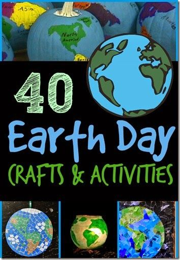 Earth Day Crafts and Earth Day Activities for Kids  Earth Day