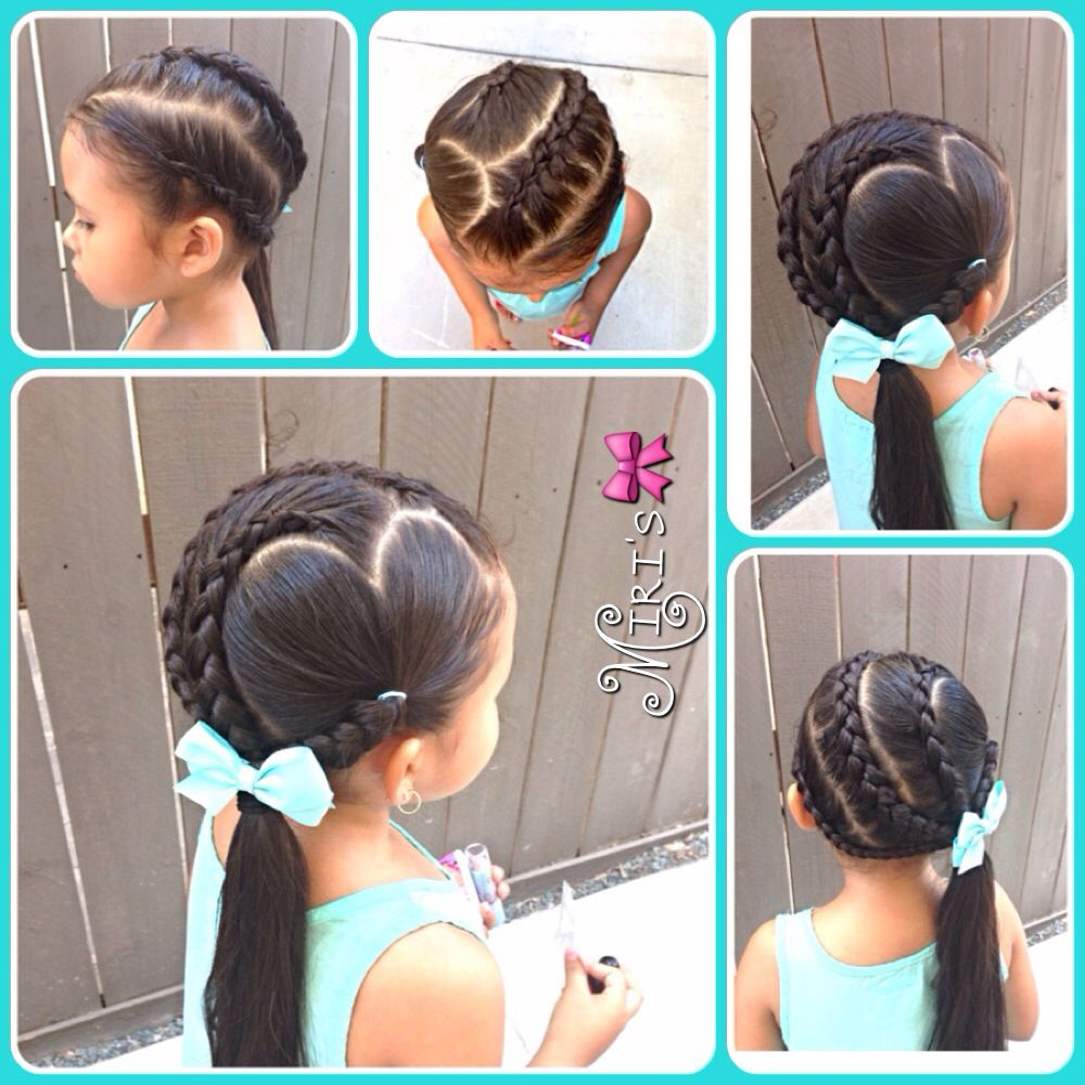 Hair style for little girls hairstyles for amelie pinterest