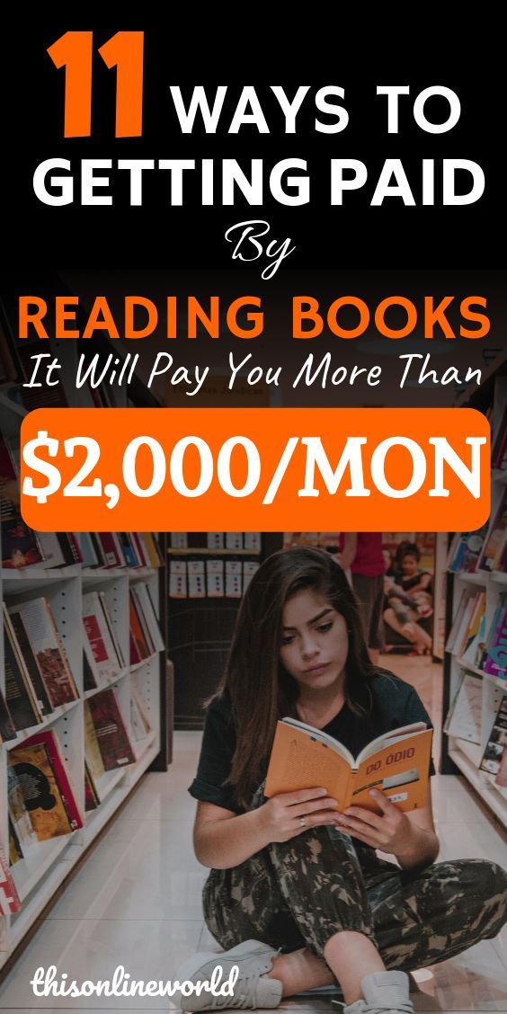 12 Ways To Actually Get Paid To Read Books - Bookw
