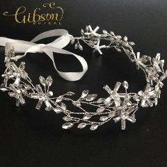 [ 22% OFF ] Elegant Wire Handmade Bridal Headband Wedding Tiara Hair Accessories