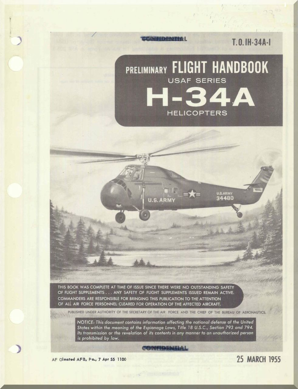 sikorsky h 34a helicopter flight manual t o 01h 34a 1 1955 rh pinterest com Helicopter Flight Controls with Collective Huey Helicopter Flight Controls