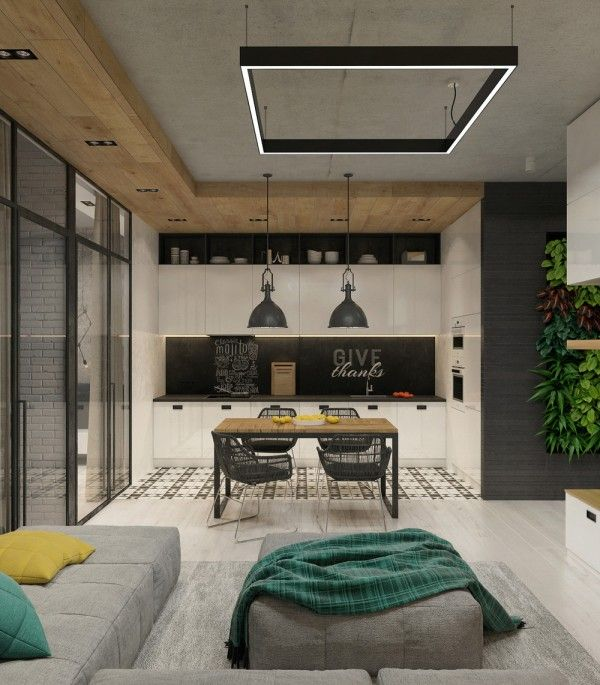 Garden Style Apartment: Concrete Finish Studio Apartments: Ideas & Inspiration