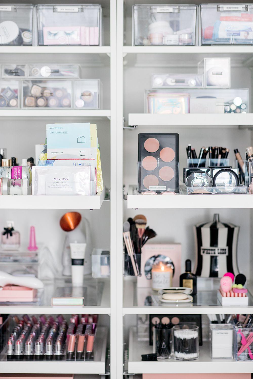 My Makeup Installment And Organization Ft Deuxaliti Makeup Organization Bedroom Organization Diy Organization Bedroom