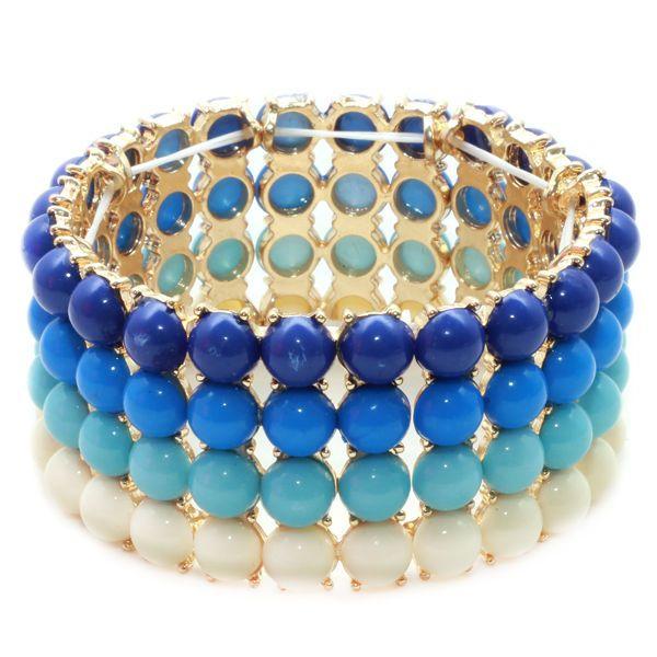 Pulseira Elegance Degradê Azul - Nineteen