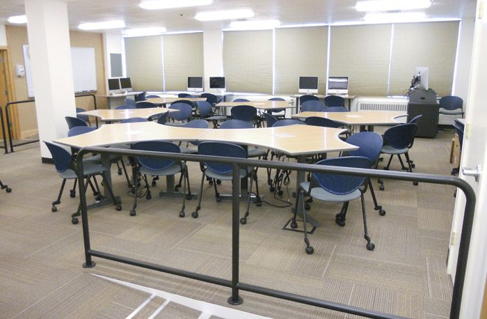 Montana State University (Bozeman, MT) Cinch Side/guest Seating In  Cafeteria/