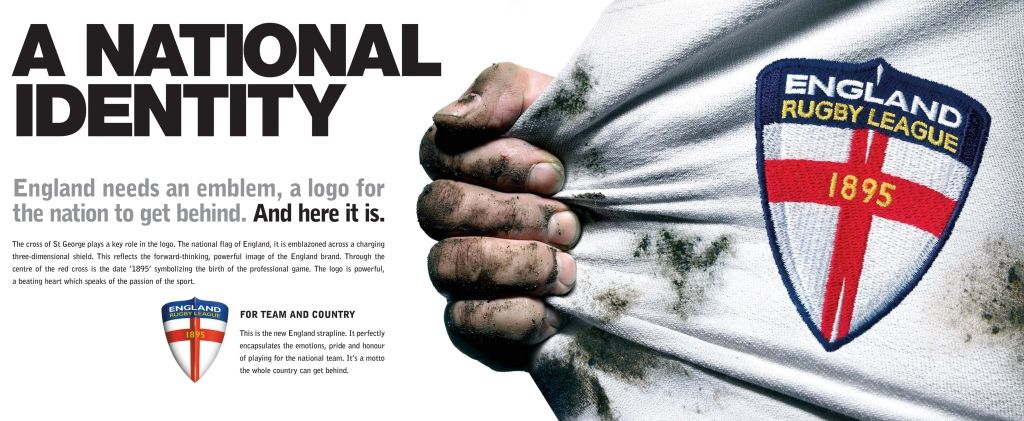 Rugby Football League: England Branding :: Cravens