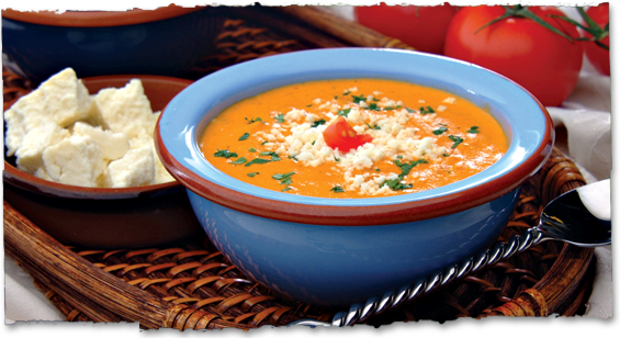 Mexican Cream of Tomato Soup | V&V Supremo