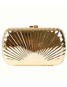 Dents Metal Box Shell Effect Clutch Bag - Gold | Oldrids  Downtown http://www.oldrids.co.uk/Fashion_Access/Womens_Fashion/Dents_Metal_Box_Shell_Effect_Clutch_Bag_-_Gold/Product #fashion #clutch