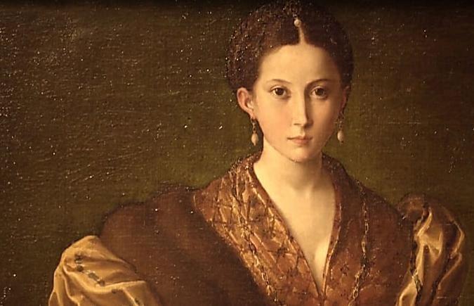 Antea e la bellezza femminile nei ritratti del Parmigianino
